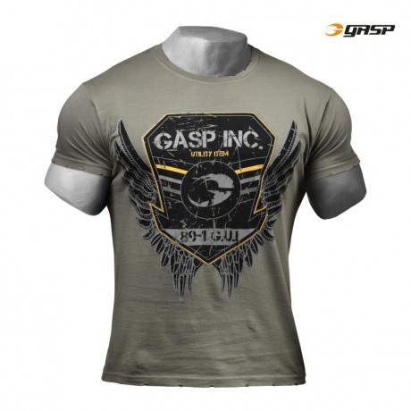 gasp rough print tee
