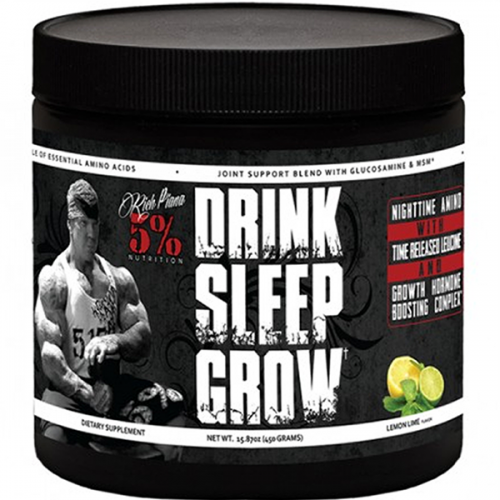 rich piana drink sleep grow