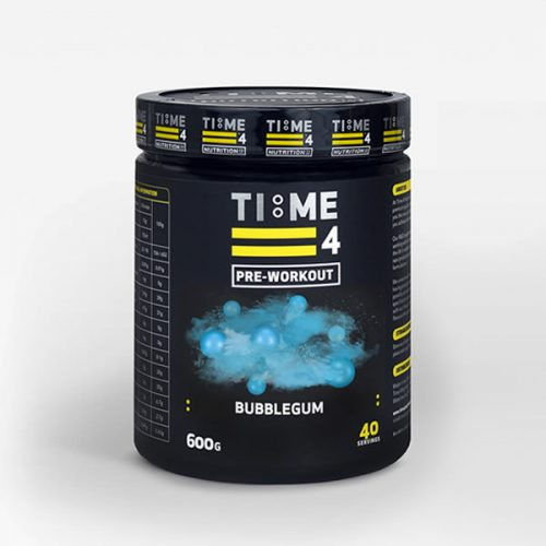 time 4 nutrition preworkout bubblegum