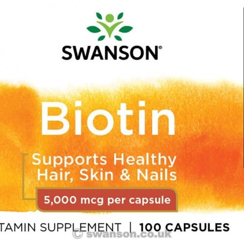 swanson biotin facts