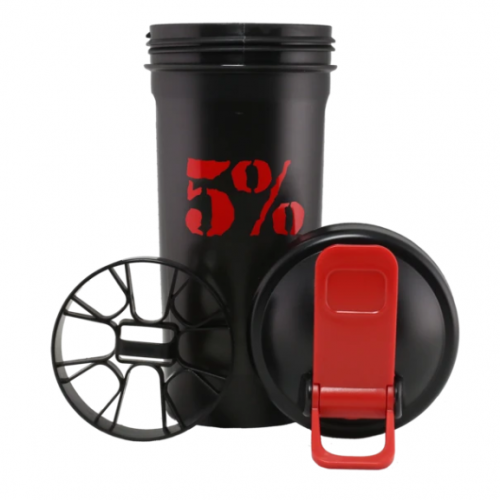 rich piana 5% nutrition shaker