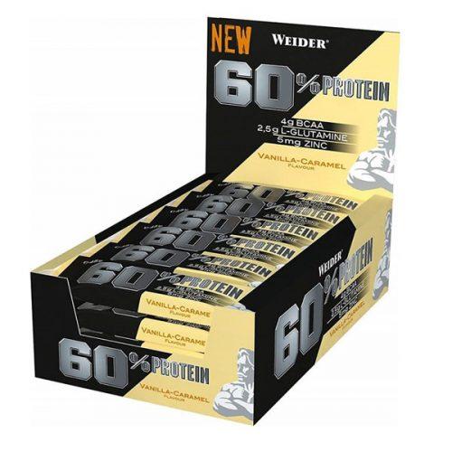 weider 60% protein bars