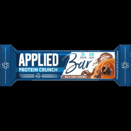 applied nutrition protein crunch milk choc caramel
