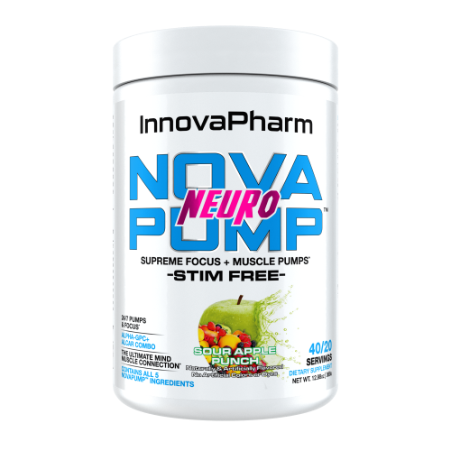 InnovaPharm Nova Pump Sour Apple Punch