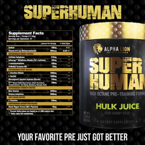 Alpha Lion Superhuman