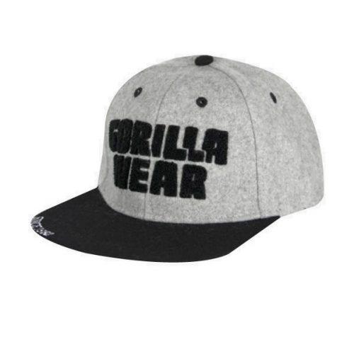 Gorilla Wear Soft Text Flat Brim Cap
